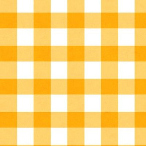 Orange Gingham - Juicy texture 2018