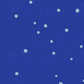 Marine Blue Turquoise Polka dots - Mini texture