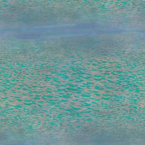 Klimt's Attersee (half scale)