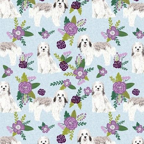 havanese dog fabric pet quilt c cheater quilt collection floral