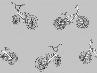 bmx bicycle kids boys fabric sports bike grey