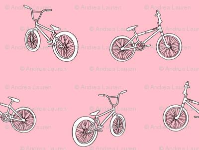 bmx bicycle kids boys fabric sports bike pink