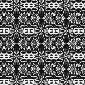 "Sighthound Blockprint B&W-1"""