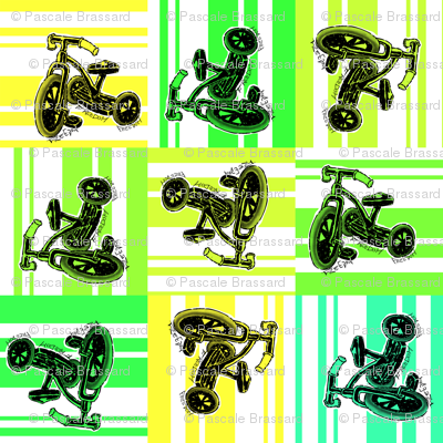 Tricycle pattern