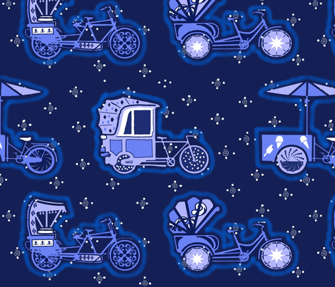 Bikemeup fabric by adrianne_vanalstine on Spoonflower - custom fabric