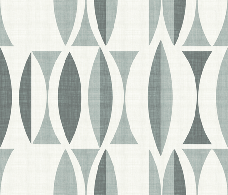 field in gray fabric by chicca_besso on Spoonflower - custom fabric