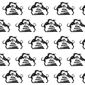 "Sighthound pyramid Blockprint-1.5"""