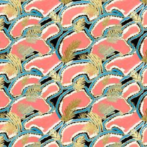 Coral jewels wallpaper Coral Wallpaper