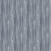 Vertical Watercolor Mini Stripes M+M Navy Black by Friztin
