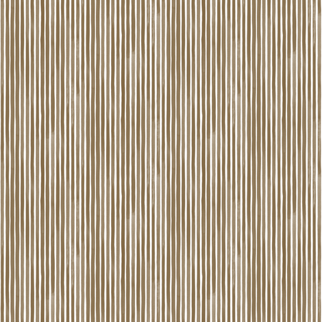 Vertical Watercolor Mini Stripes M+M Nutmeg by Friztin fabric by friztin on Spoonflower - custom fabric