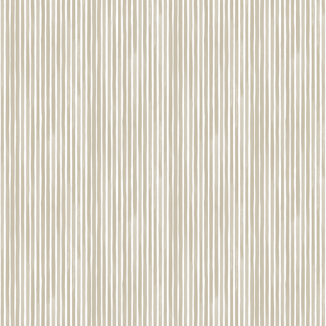 Vertical Watercolor Mini Stripes M+M Latte by Friztin fabric by friztin on Spoonflower - custom fabric