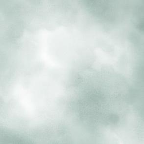 Gray Blue Watercolor Sky