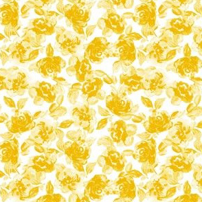 Indigo Vintage Yellow Roses