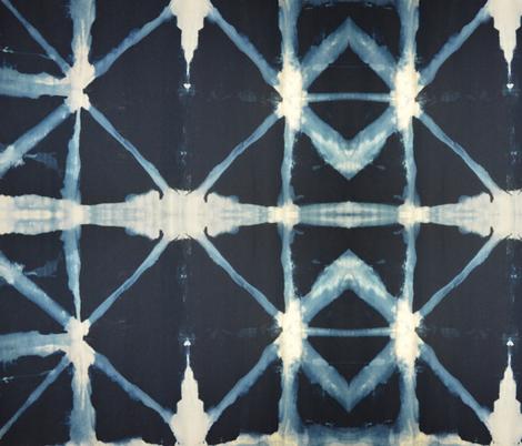 Shibori diamond fabric by funksion on Spoonflower - custom fabric
