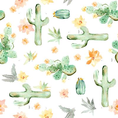 Arizona Cactus Sideways