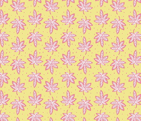 Smoke on the Water in Sunshine fabric by house_designer on Spoonflower - custom fabric