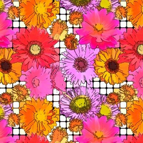 _Flowers grid-cartoon