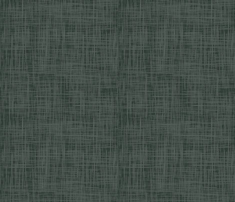 Linen forest green co-ordinate fabric by katherine_quinn on Spoonflower - custom fabric