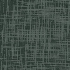 Linen forest green co-ordinate