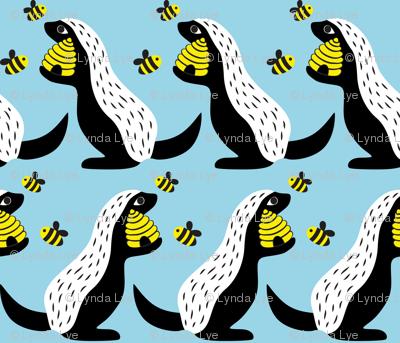 Honey Badgers Love Honey I