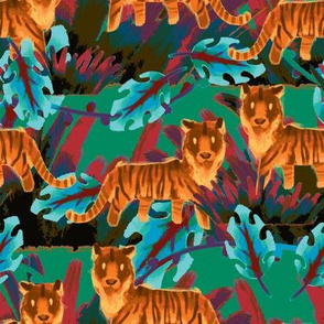 Painterly Tigers
