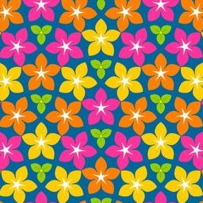 07451786 : U53 flowers 3 : joyful blue