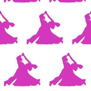 Pink Ballroom Dancers // Large