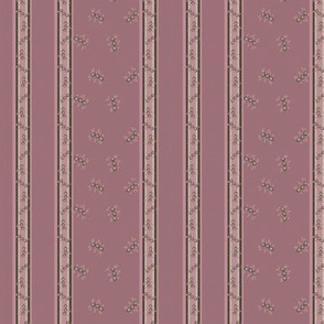 Little stripey things with stripes -rosewood