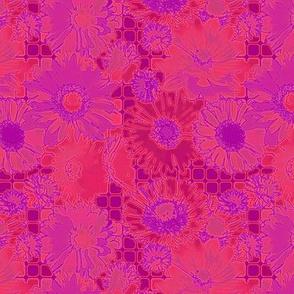 _Flowers grid-neon