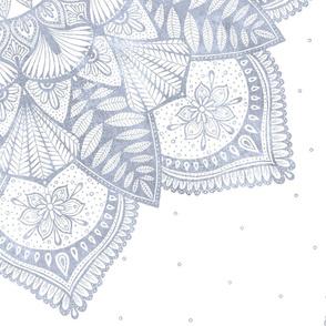Lace Mandala - Pale Indigo