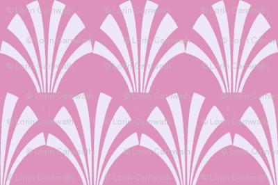 fans small repeat lt pink on pink