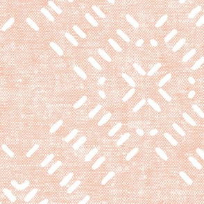 modern farmhouse tile LARGE scale (pink)