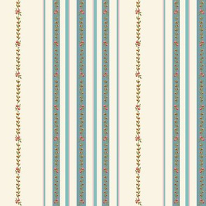 Loads of stripes on cream