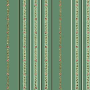 Loads of stripes dark green