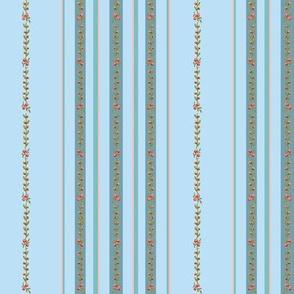 Loads of stripes Prussian blue