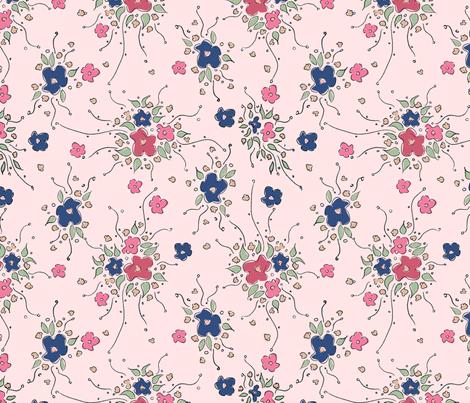 Garden Sprays fabric by jewelraider on Spoonflower - custom fabric