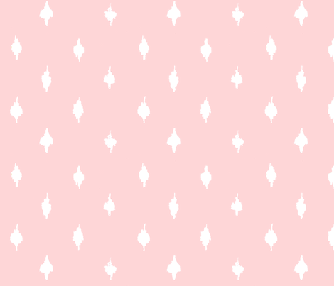 Farmhouse ballet pink polka dots fabric by lisakling on Spoonflower - custom fabric