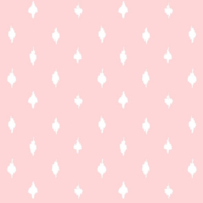 Farmhouse ballet pink polka dots