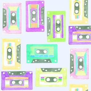 summer mix tape purples