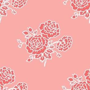 chintz - pink