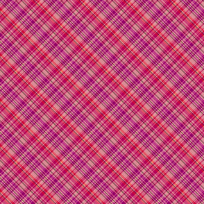 Cherry and Grape Madras Plaid
