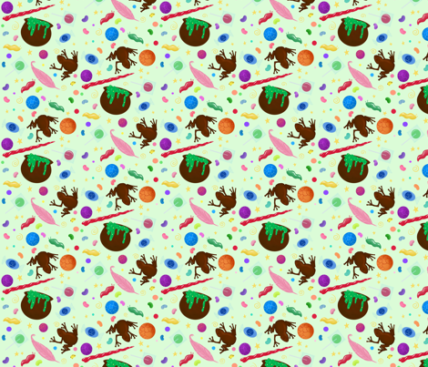 Wizard Candy fabric by sparkymonster on Spoonflower - custom fabric