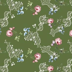 Spitalfields forestgreen variation