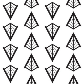 Deco Diamonds (Black and White)