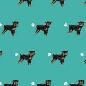 brussels griffon black and tan funny fart dog breed turquoise