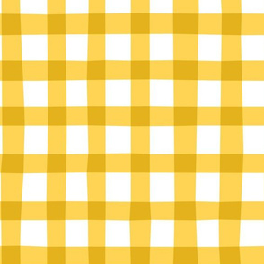 checkered yellow plaid vichy by unPATO