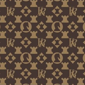 Knight Rook Monogram - Classic Colors