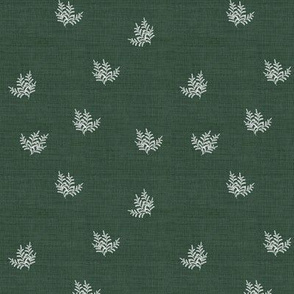Feathery Fern, Pine Green