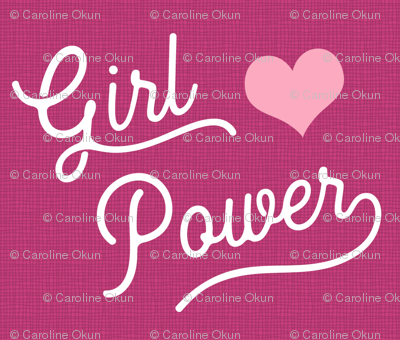 Girl Power is Pink Small