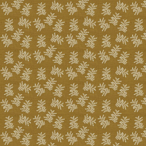 Delicate Fern Antique Gold